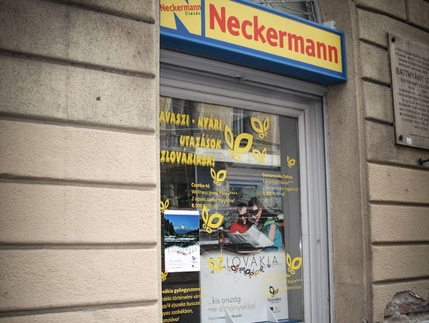 Neckermann Batthyány tér